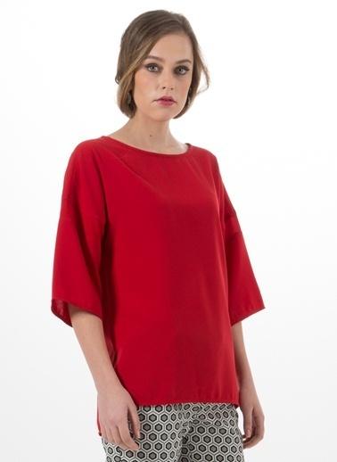 Beymen Studio Bluz Kırmızı